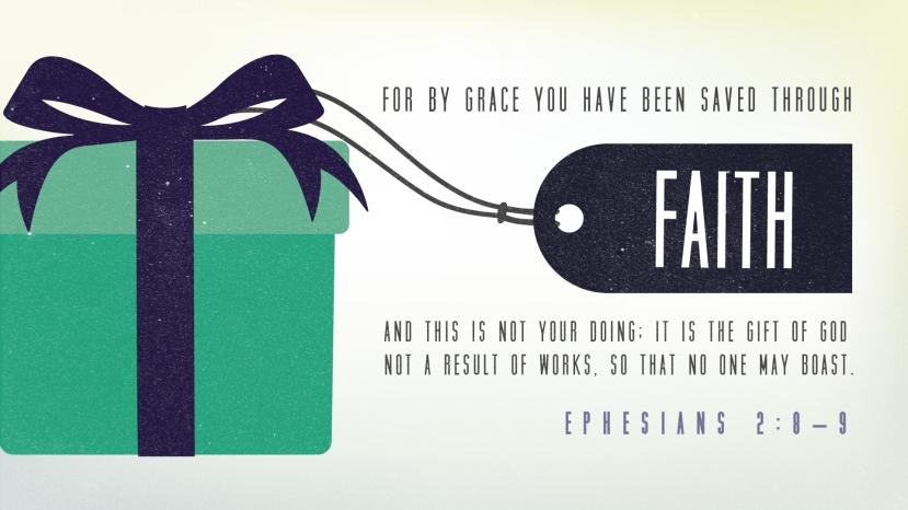 Ephesians 2:8–9 [widescreen]