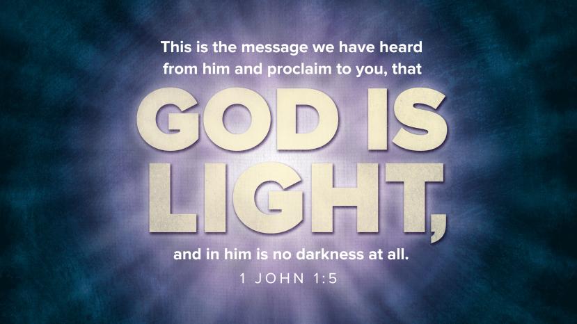 1 John 1:5 [widescreen]