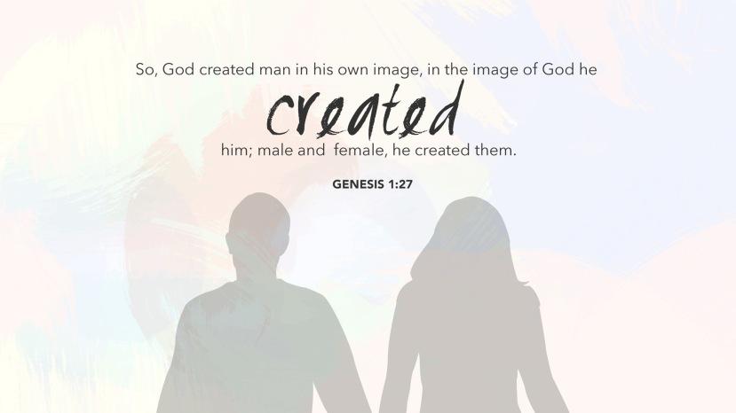 Genesis 1:27 [widescreen]