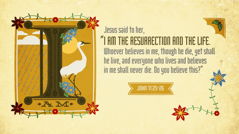 John 11:25–26 [widescreen]