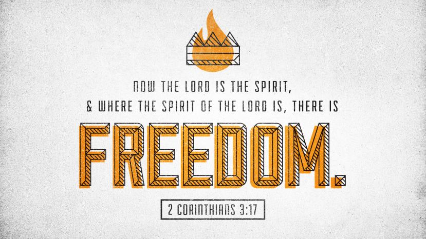 2 Corinthians 3:17 [widescreen]