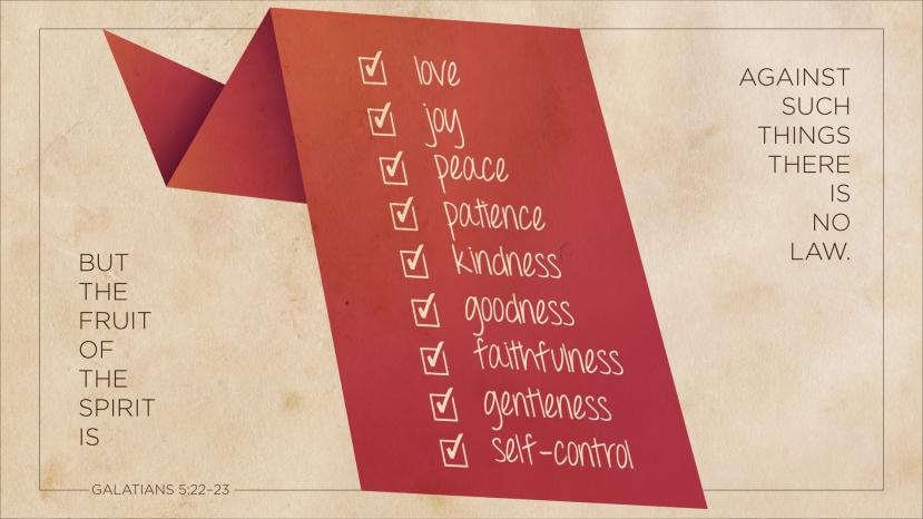 Galatians 5:22–23 [widescreen]