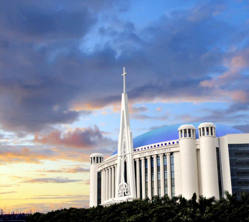 Katedral Mesias Sunset